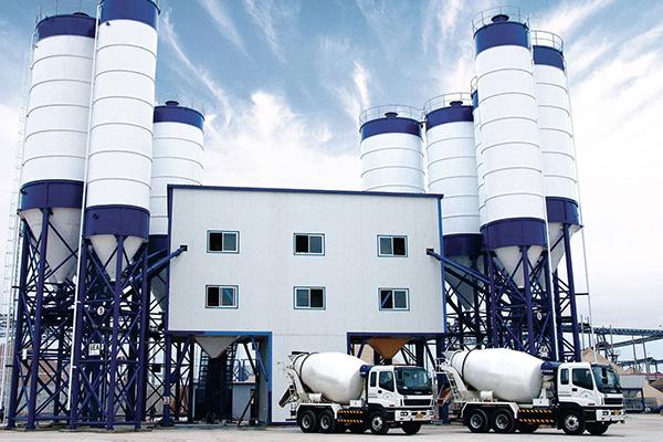 Бетонный завод 2HZS240