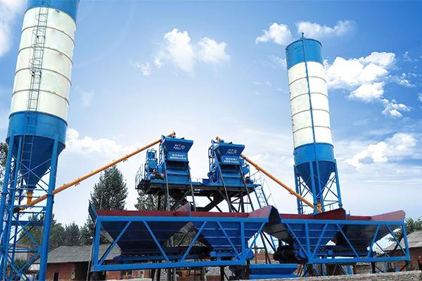 Бетонный завод 2HZS25