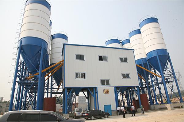 Бетонный завод для 15-ого железнодорожного бюро КНР