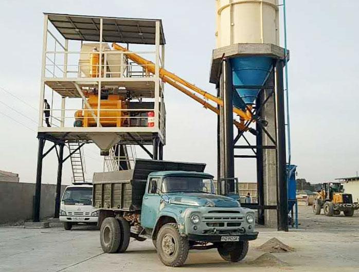 бетонный завод для Ролик уплотненный бетон