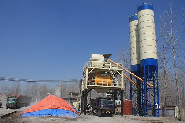 бетонный завод для Ролик-уплотненный бетон