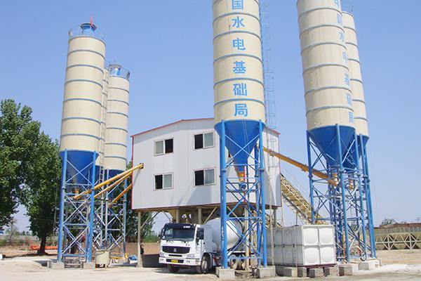 Бетонный завод HZS120