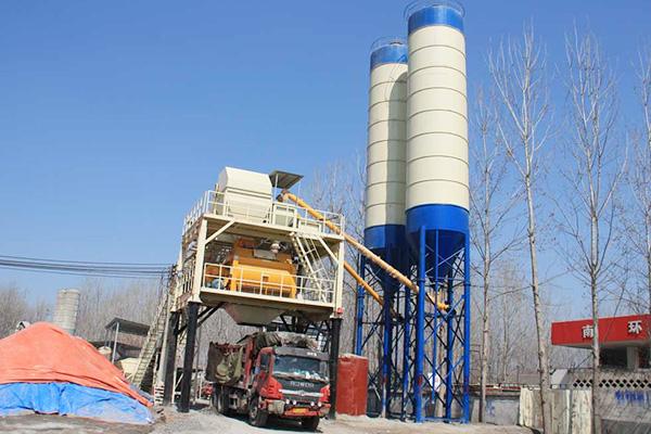 Бетонный завод HZS180