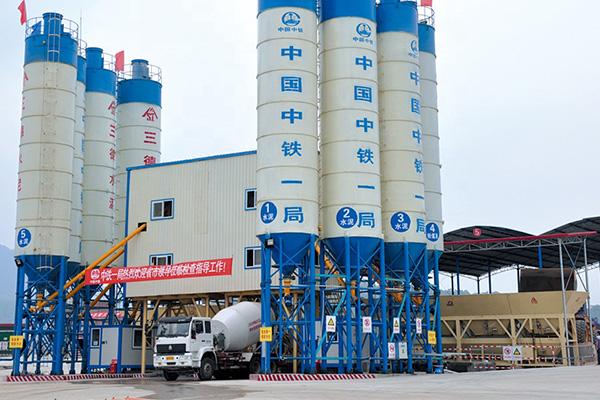 Бетонный завод HZS240