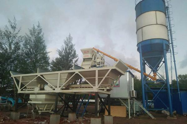 Бетонный завод в Палау
