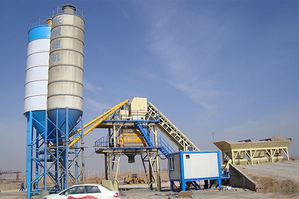 Бетонный завод в Тибете для POWERCHINA