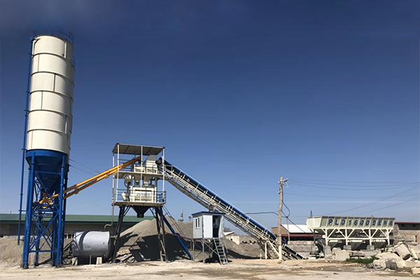 Промышленный бетонный завод