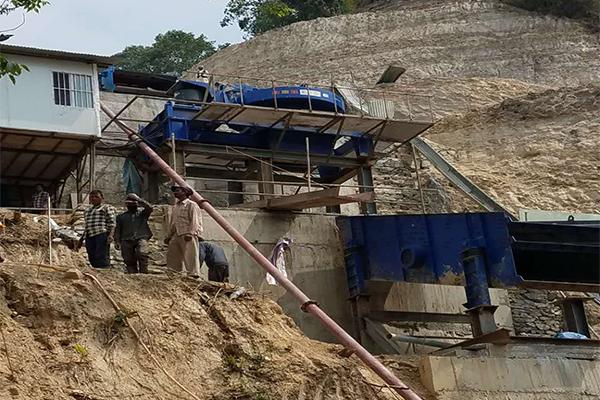 Непал механизм линии производства песка