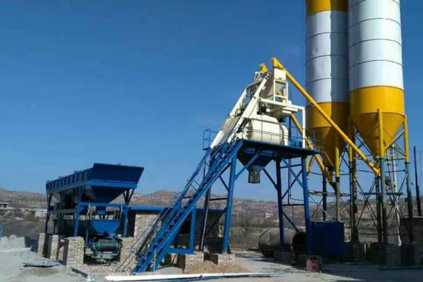 Бетонный завод HZS50