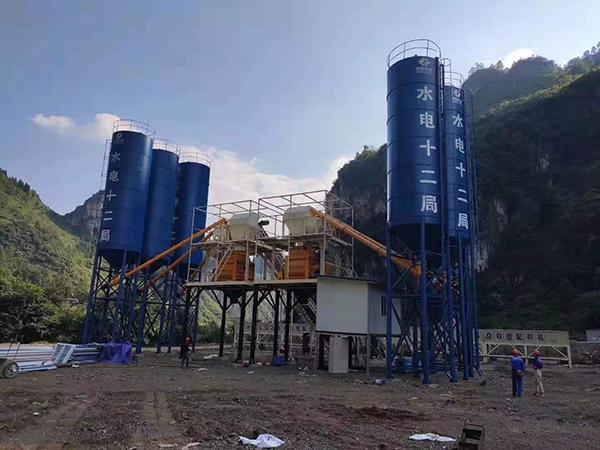ООО«Camelway» была установлена на смесительной станции HZS90 в Люпаньшуй