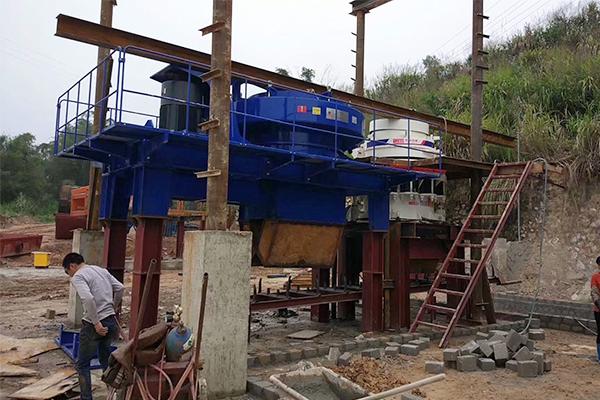 Линия по производству песка в Ганьсу