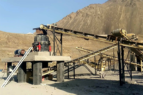 Производная линия по дроблению и сортировке руды
