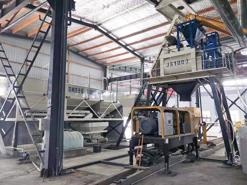 Сборный бетоносмесительный завод